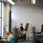 Painting Student